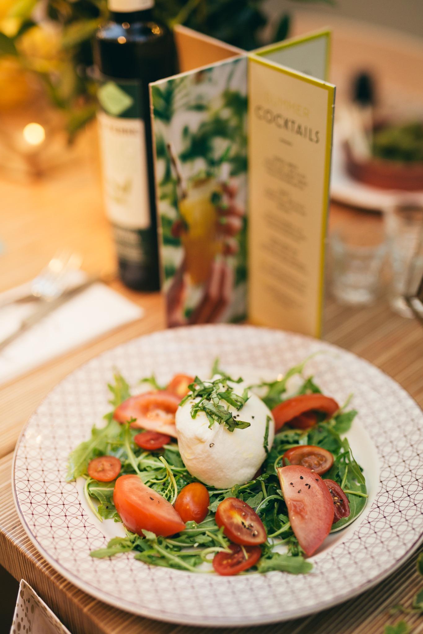 ASK Italian Cocoa Chelsea Aperitivo salad