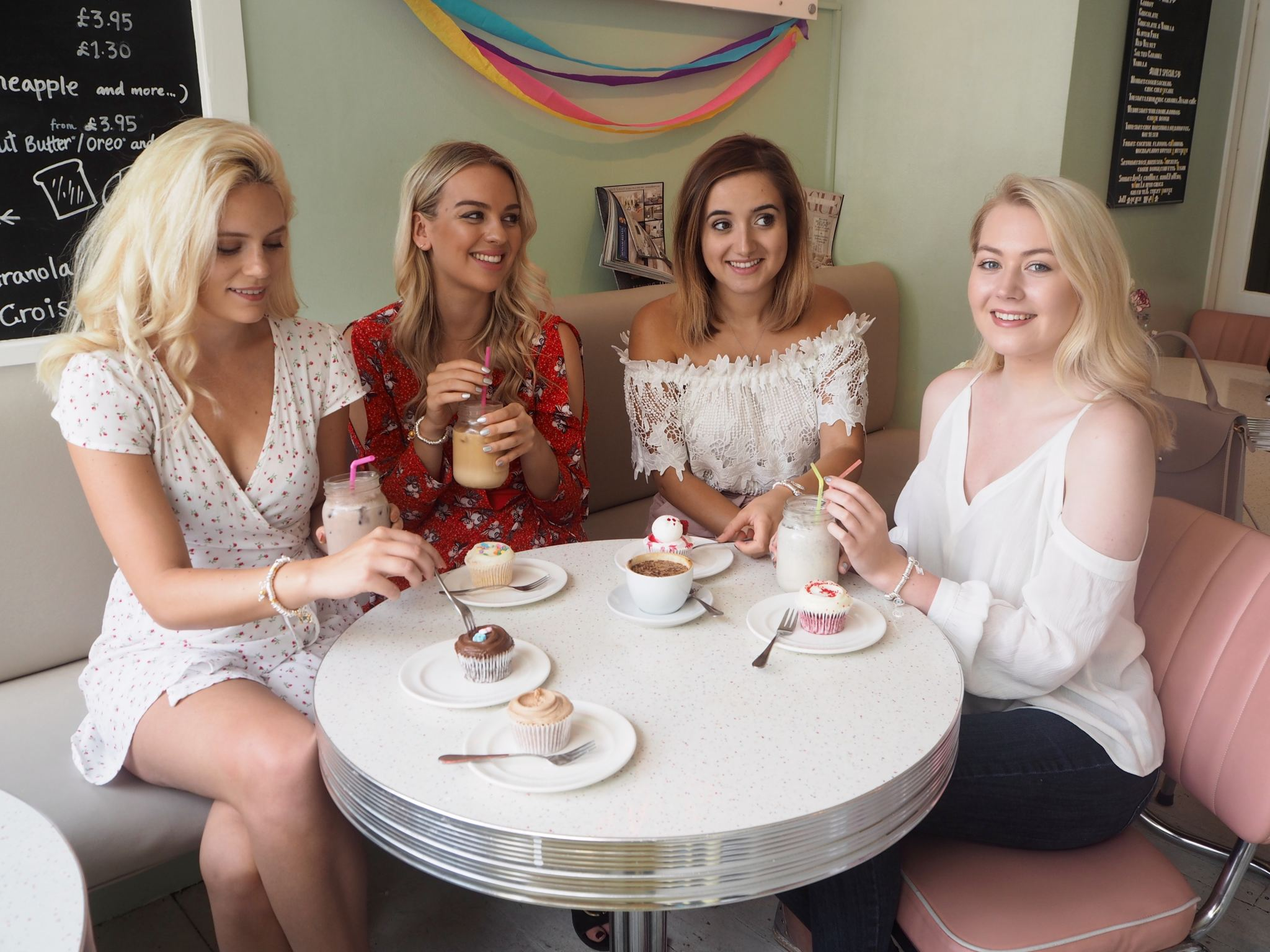 cocoa chelsea and Links of London shoot with girls