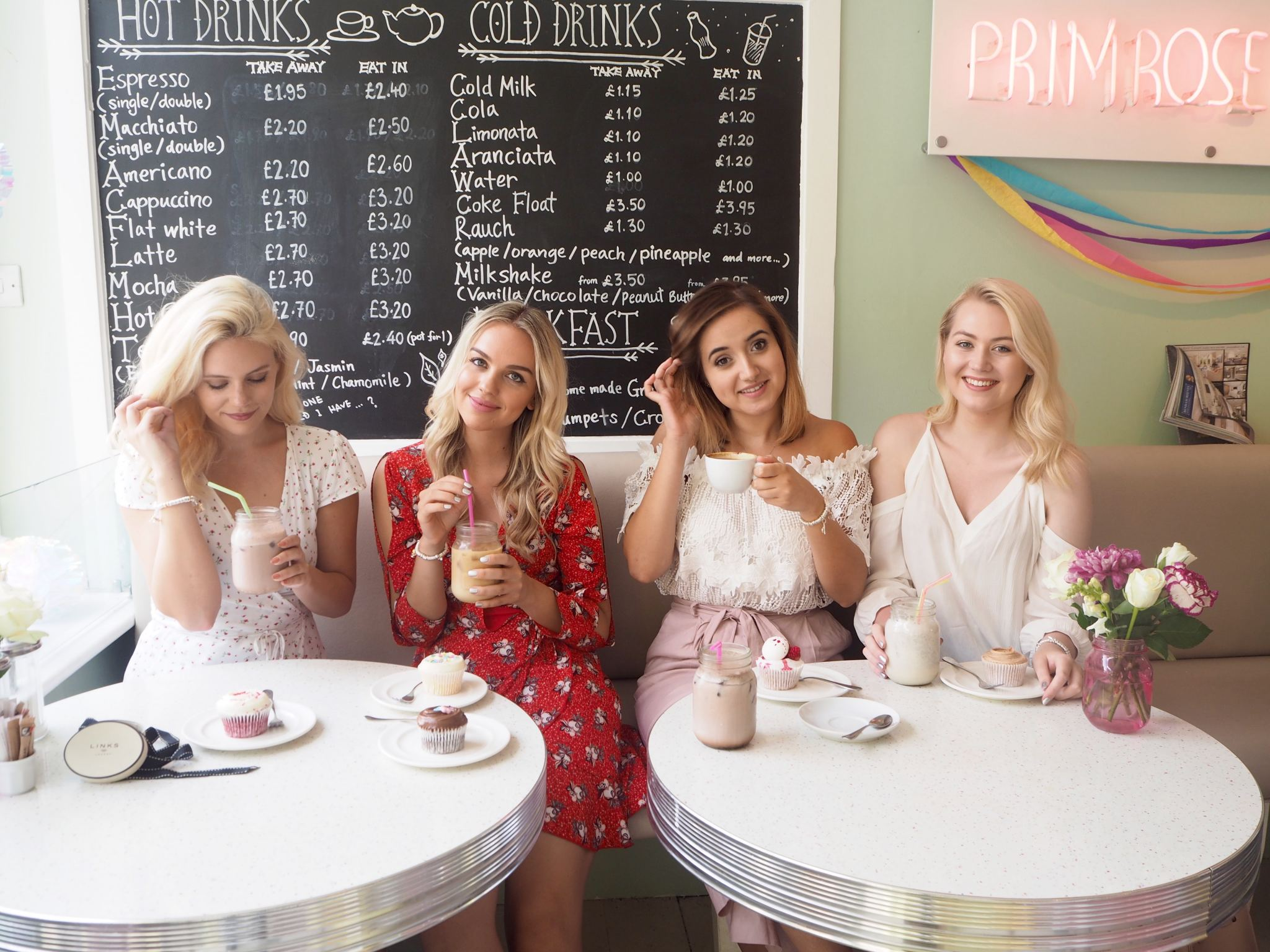 candid of the girls and Links of London