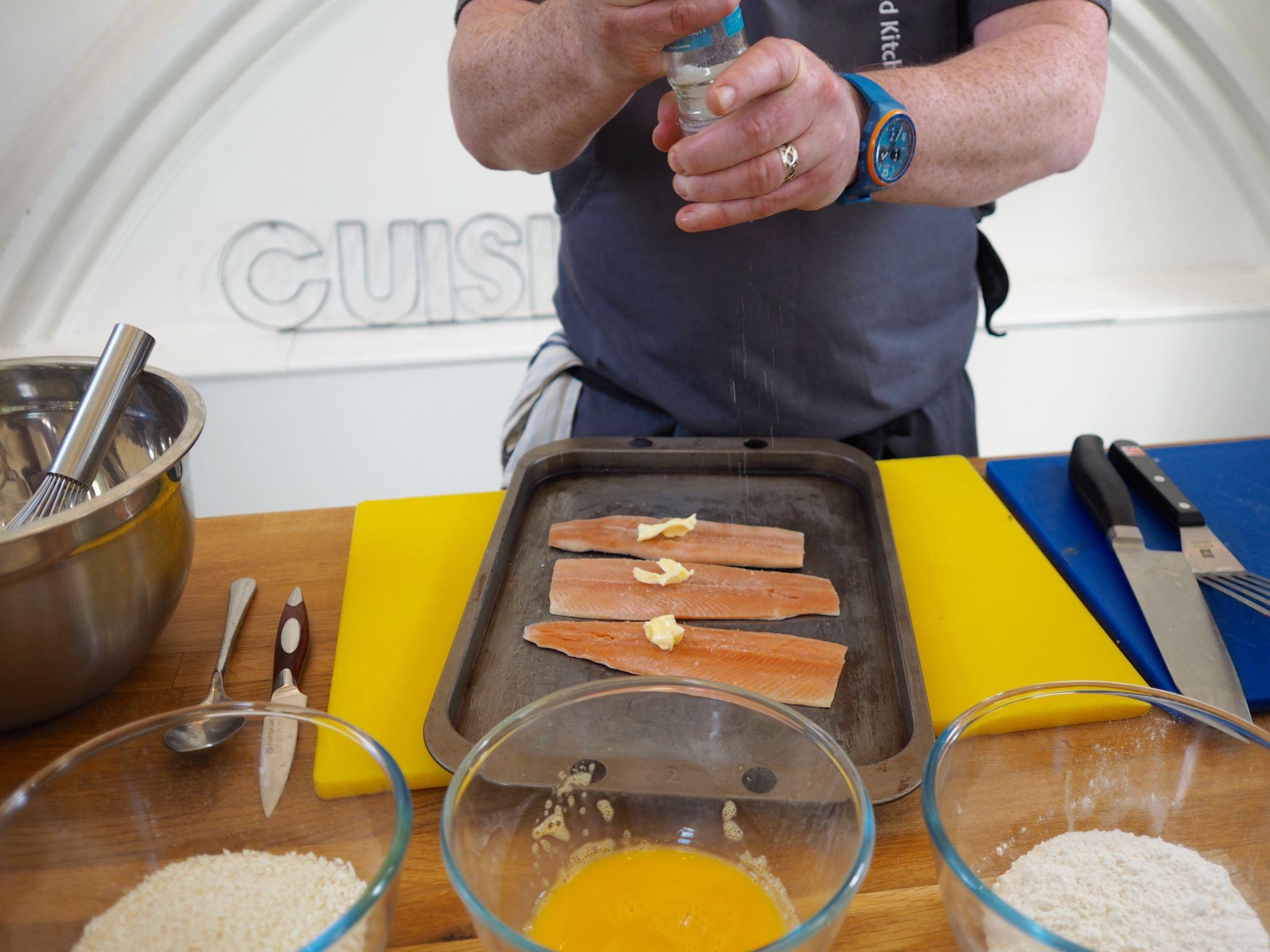 Chelsea Iceland School of fish cooking school neil nugent