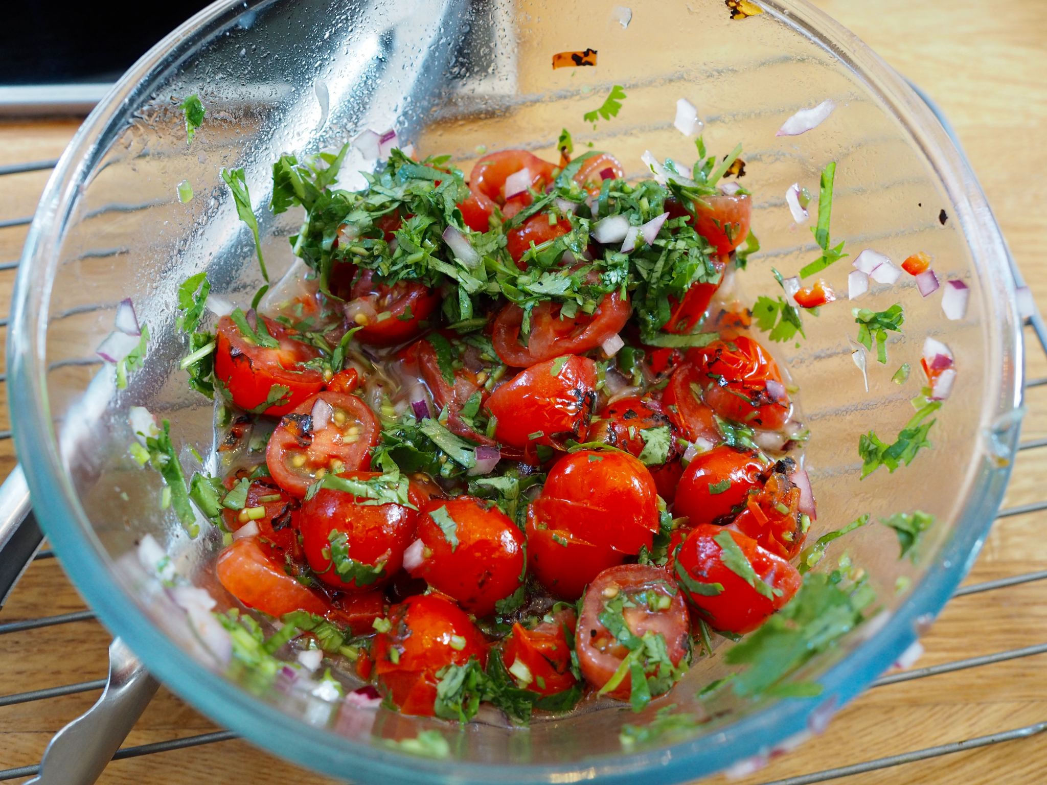 Chelsea Iceland School of fish cooking school neil nugent tomatoes