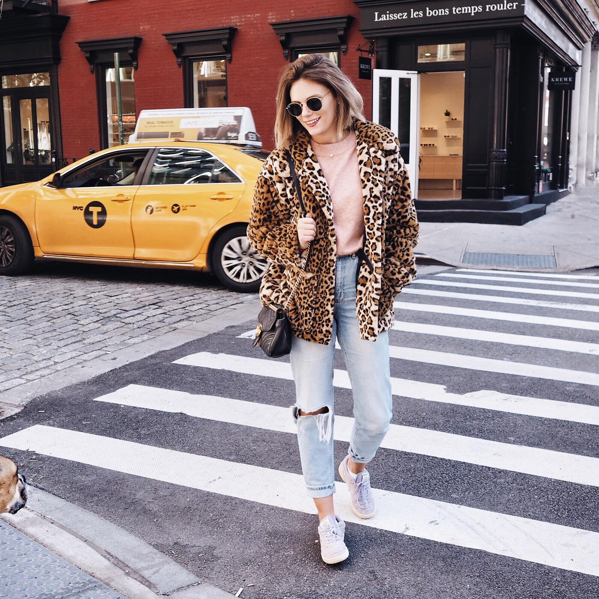 New york cocoa chelsea jesschamilton taxi leopard coat