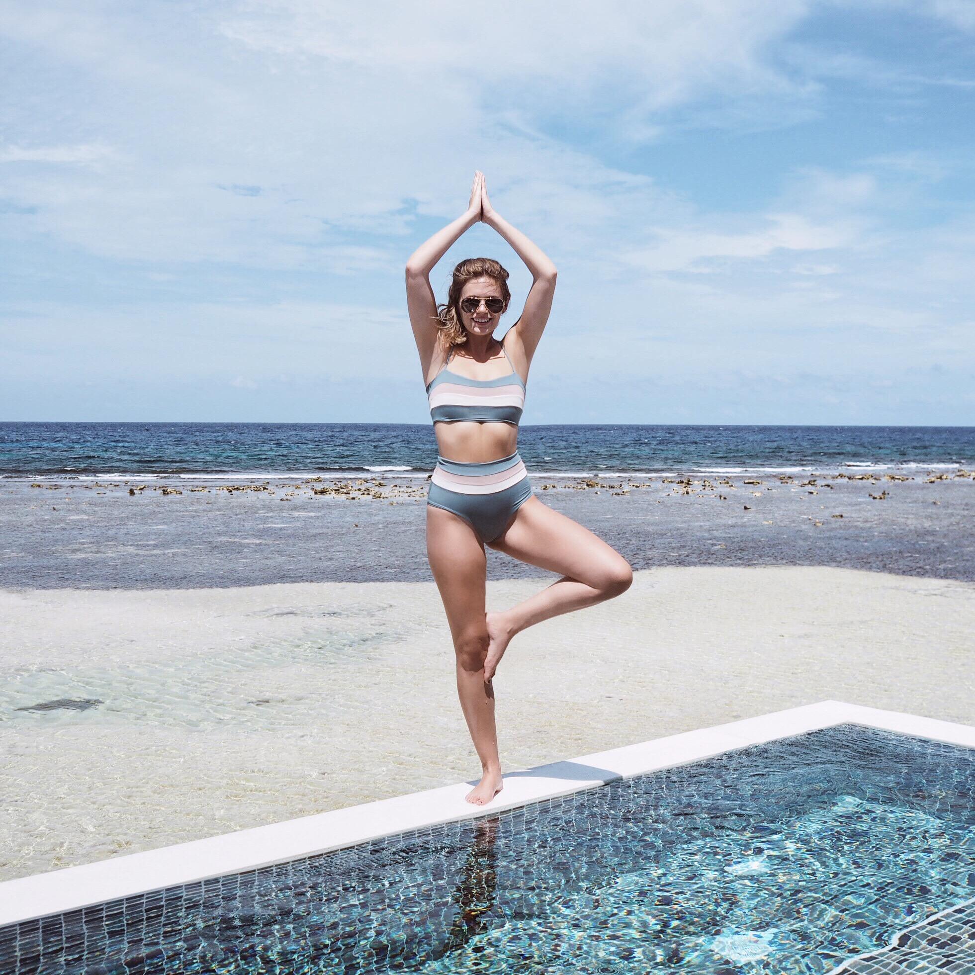 sandals resort montego bay jesschamilton yoga