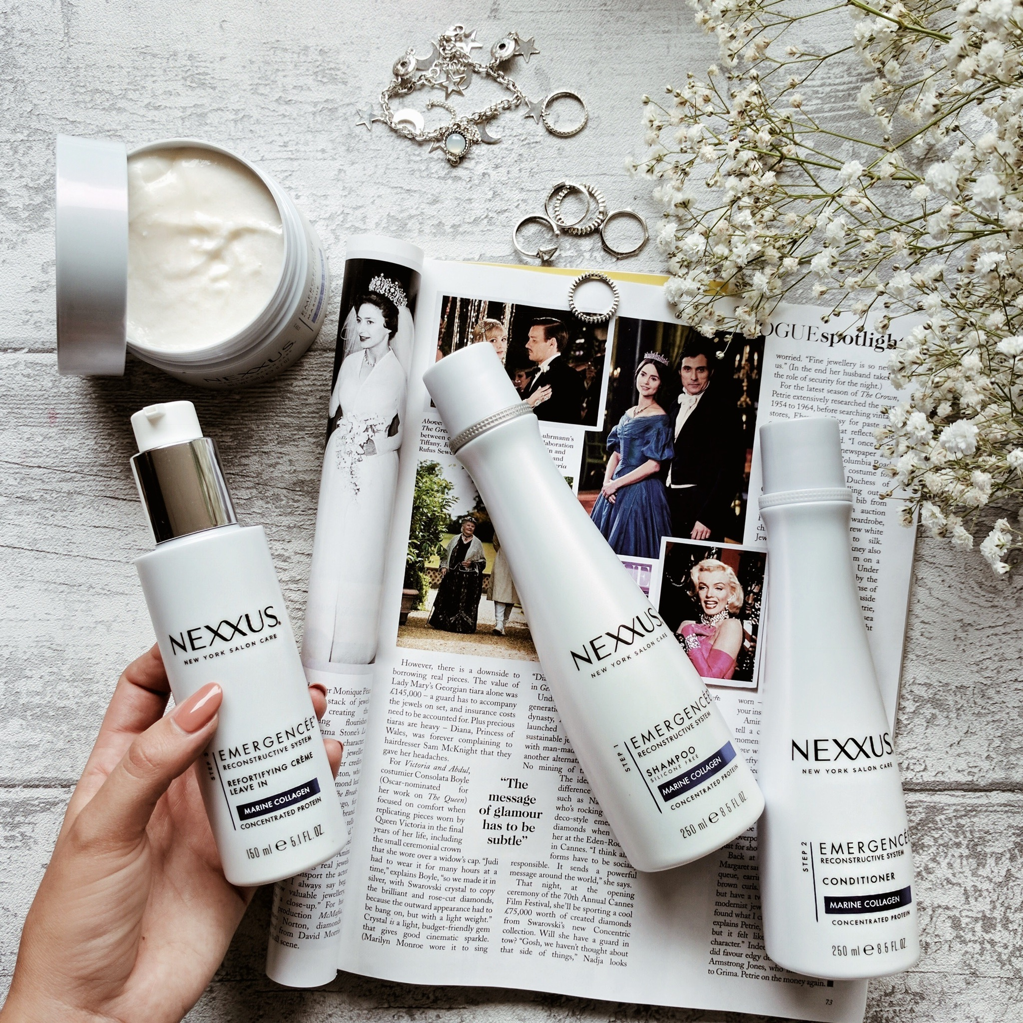 A lil' bit of hair loving with Nexxus