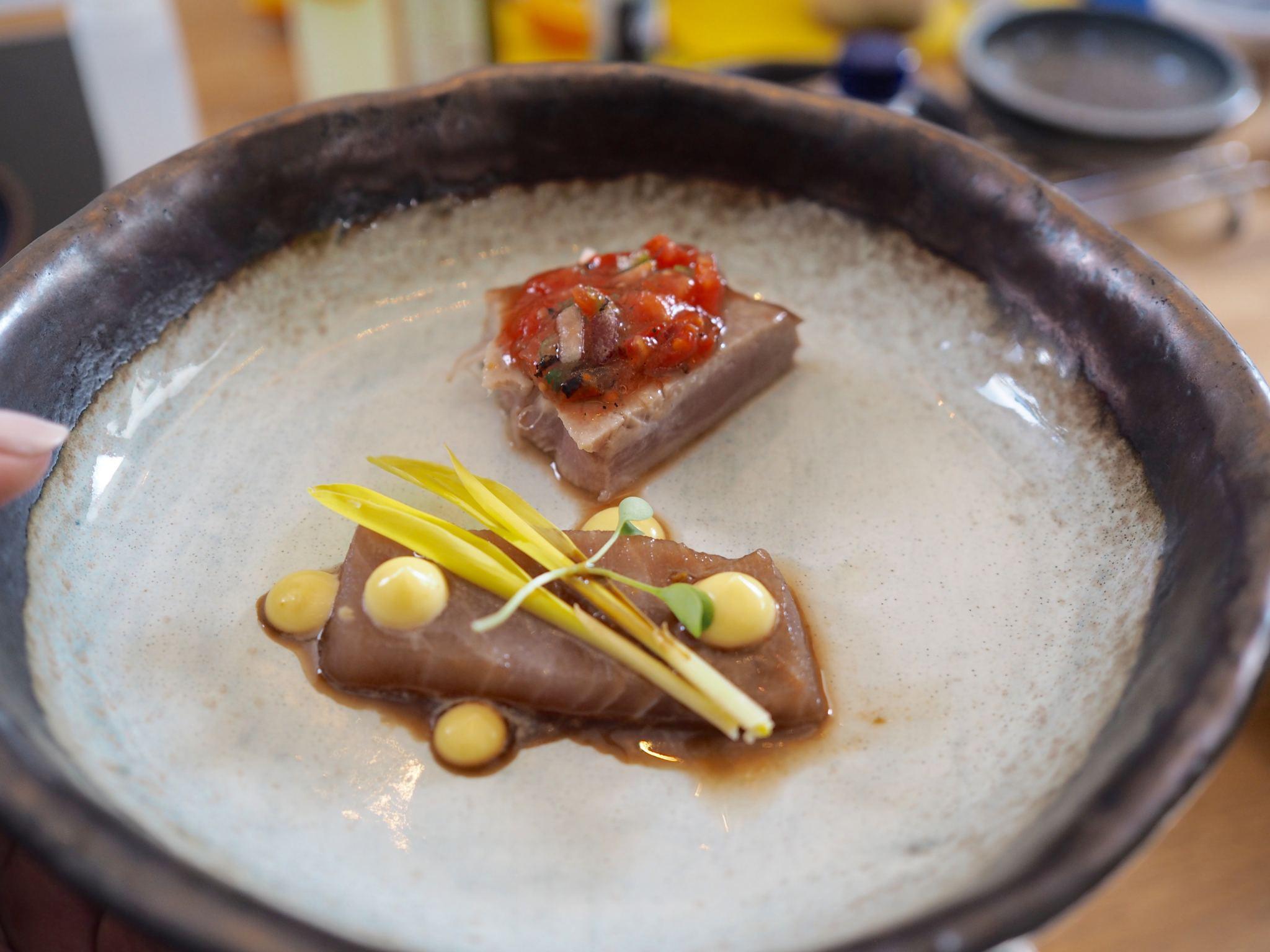 Chelsea Iceland School of fish cooking school neil nugent tuna sashimi