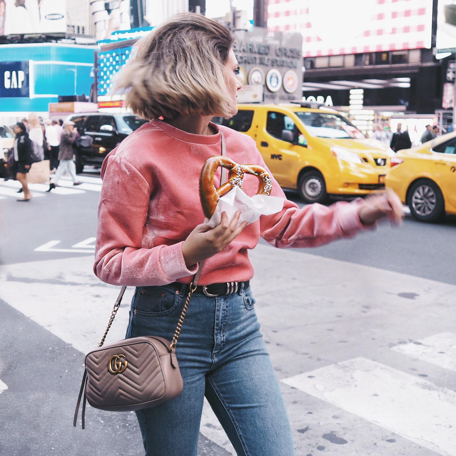 New york cocoa chelsea jesschamilton times square pretzel
