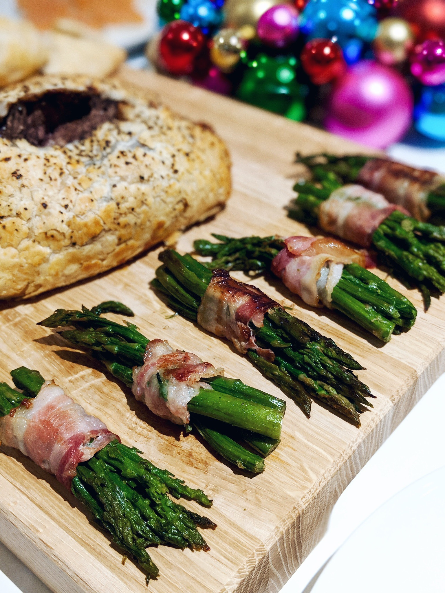 iceland luxury food christmas cocoa chelsea beef wellington asparagus bacon
