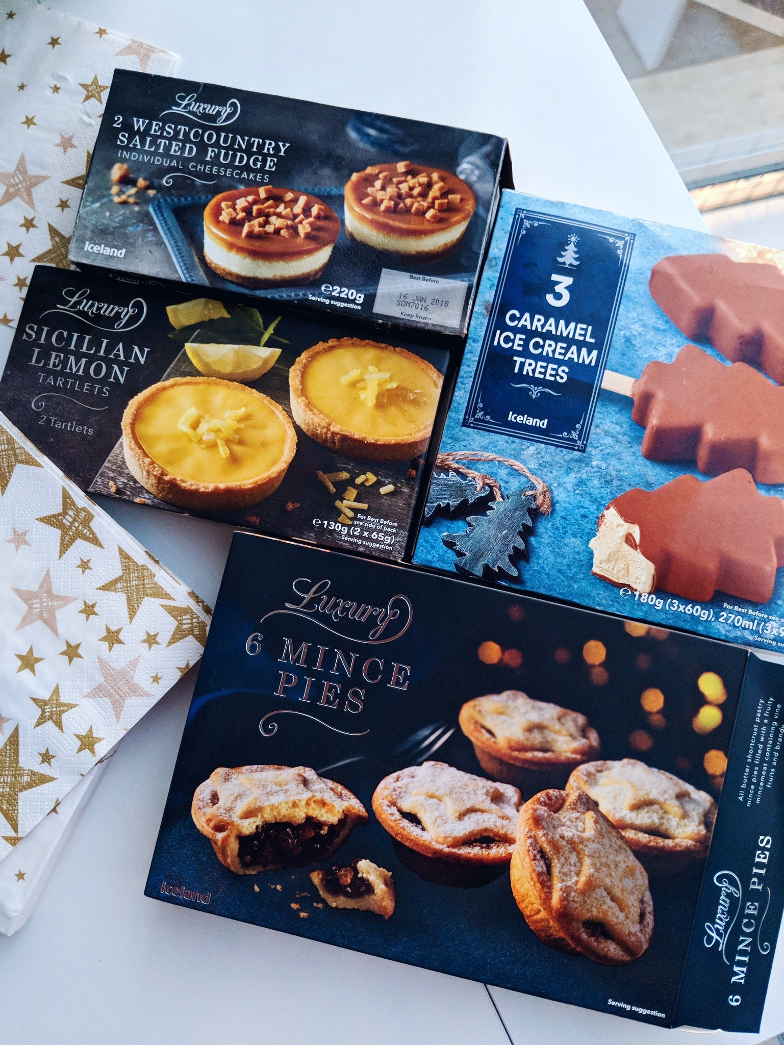 iceland cocoa chelsea luxury christmas desserts
