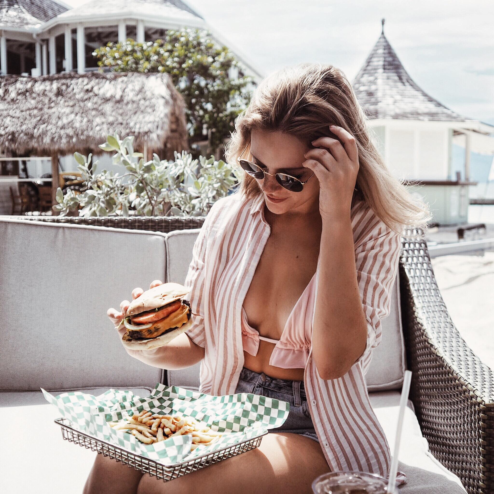 burger sandals resort montego bay jesschamilton