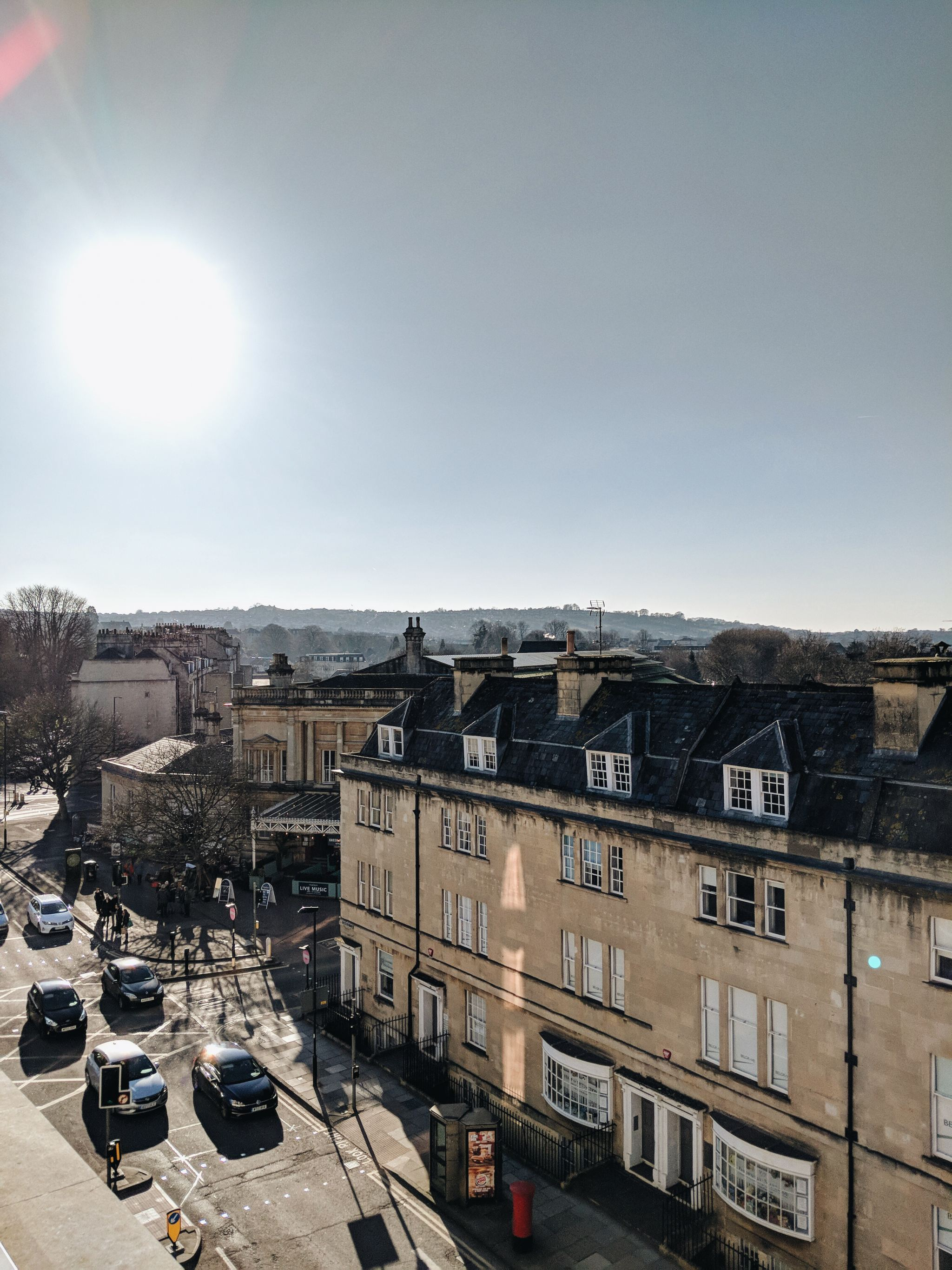 Cocoa Chelsea Apex Hotels City of Bath balcony view
