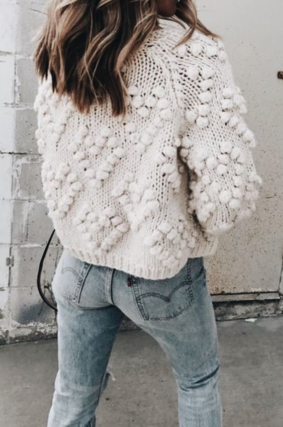 cocoa chelsea knitwear bobble knit jumper oversized pinterest jesschamilton style autumn fashion haul
