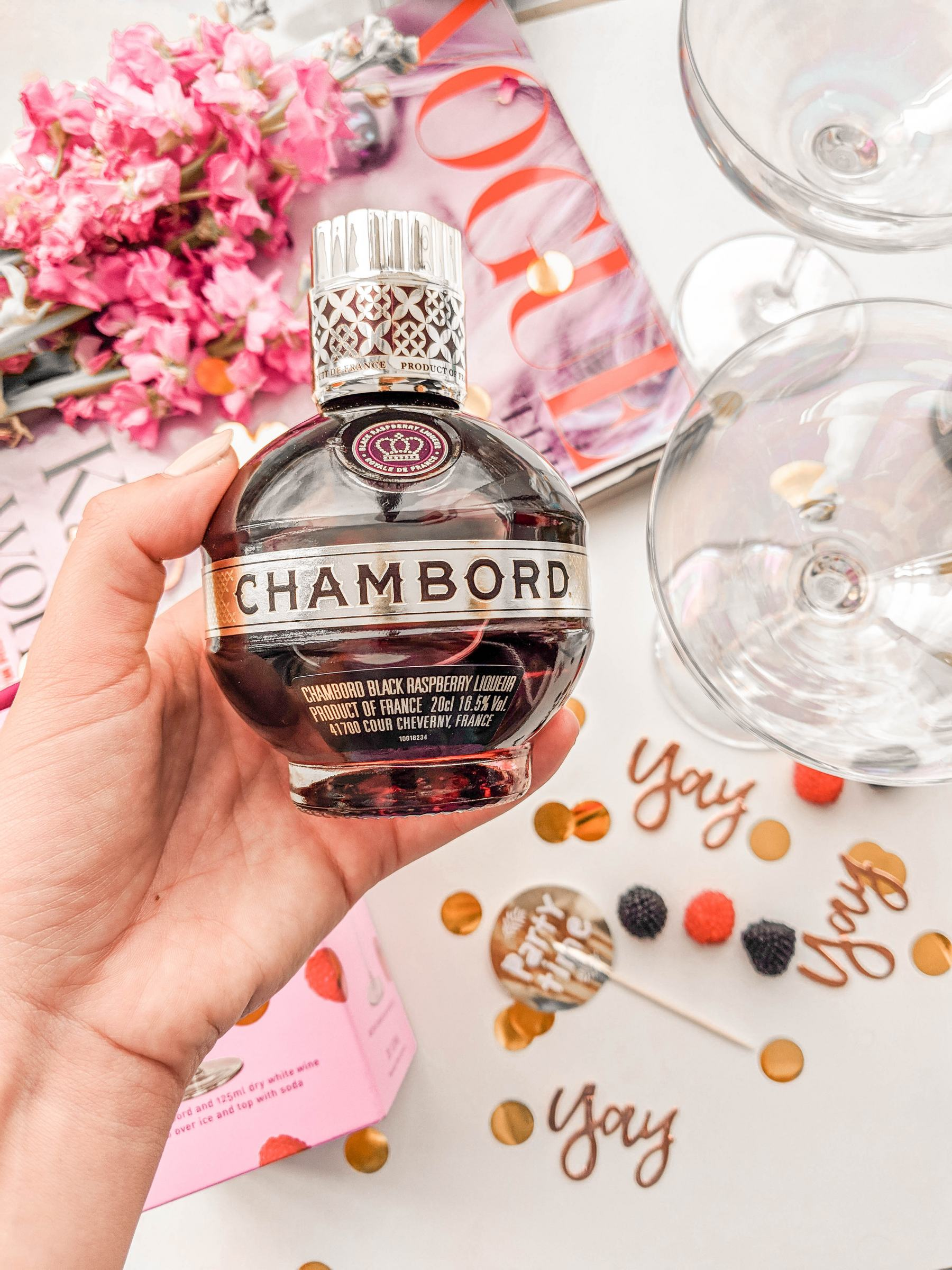 chamord cocoa chelsea jesschamilton cocktails summer spritz drinks fun