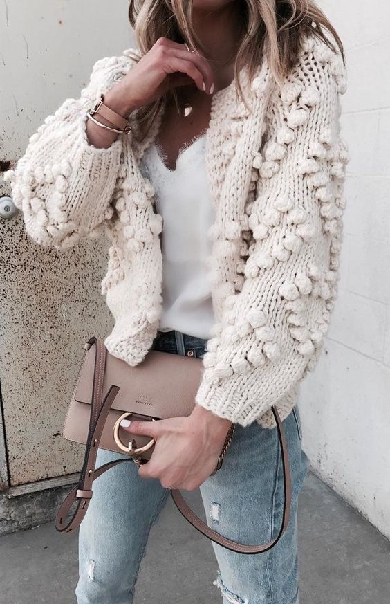 cocoa chelsea knit bobble knitwear autumn fashion haul style jesschamilton